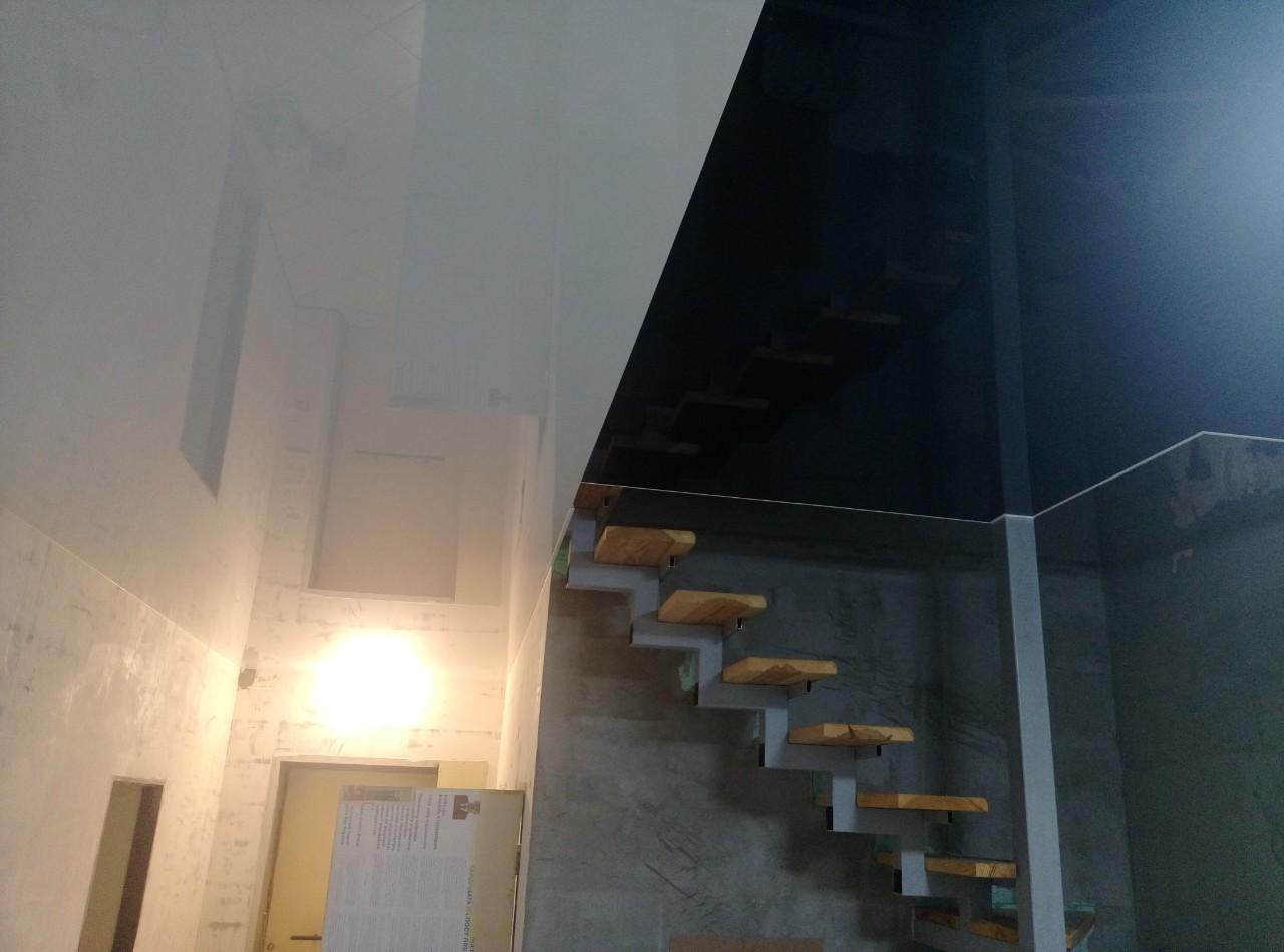 обрыв натяжного потолка