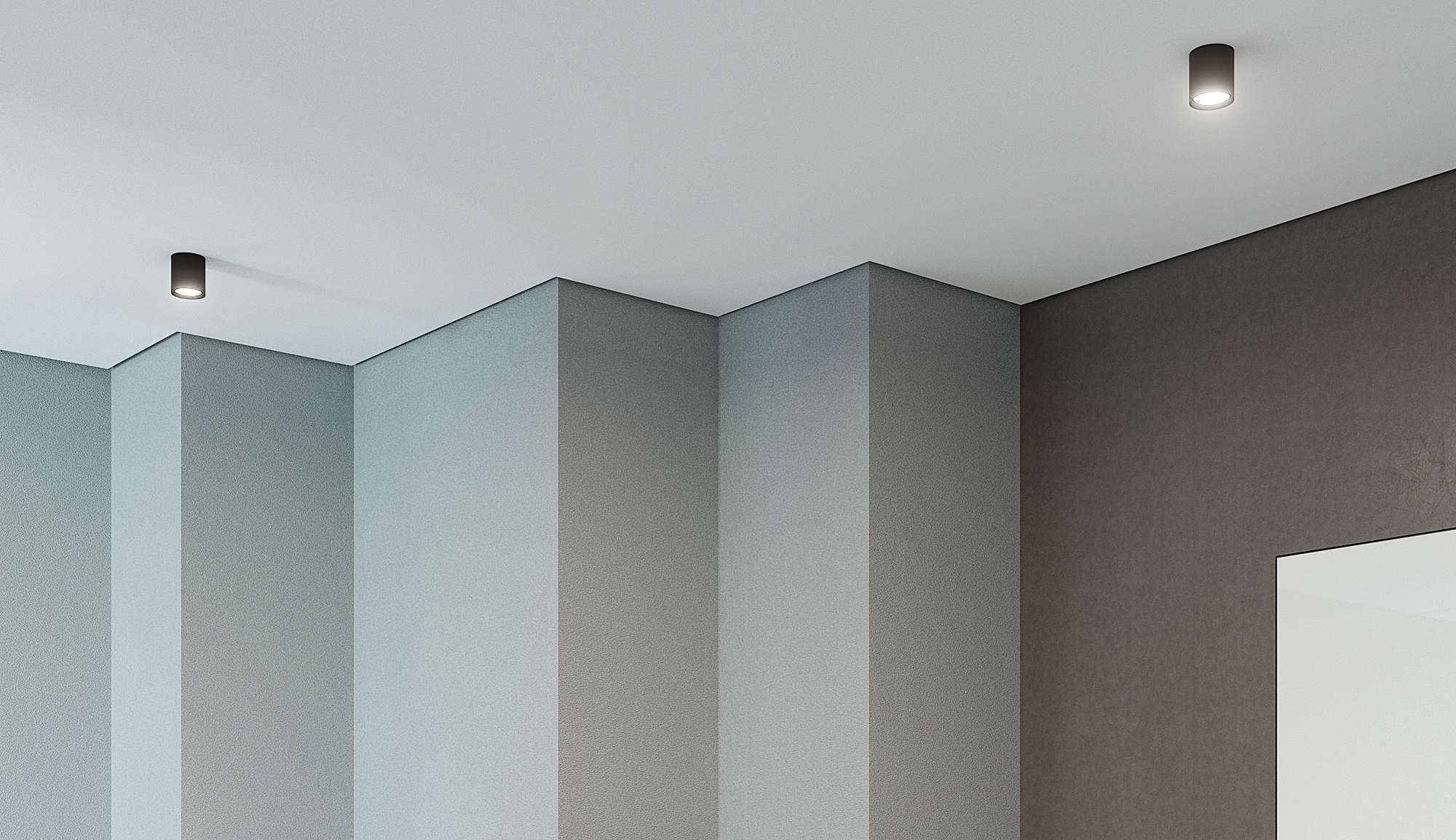 натяжной потолок с теневым примыканием